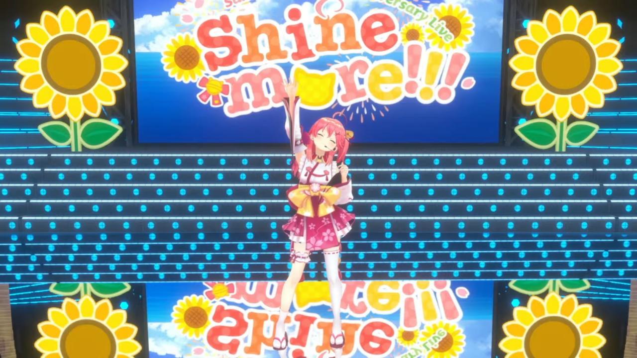 487f1b1d9c4c382e3dafdbc0cc2fd2b9 【 3DLIVE 】3rd Anniversary LIVE Shine more!!! 【#さくらみこ3周年LIVE】
