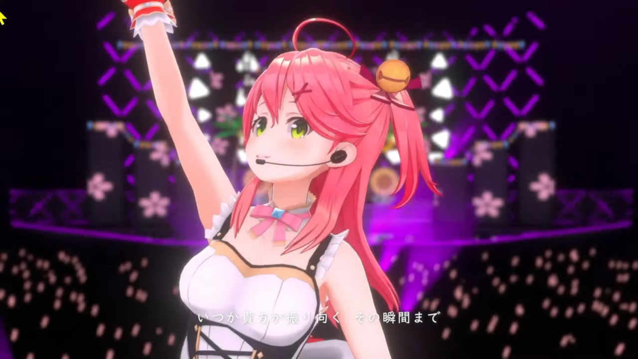 51fededc87b0840c33561f84955e9d2a 【 3DLIVE 】3rd Anniversary LIVE Shine more!!! 【#さくらみこ3周年LIVE】