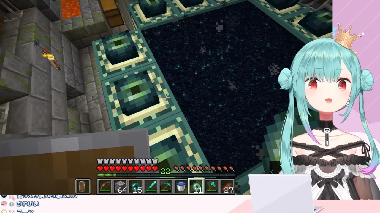 64c2106909158834a0d61cbbaac147a3 【Minecraft】初!エンドラ討伐しよおお!エンドポータルどこやろか!【潤羽るしあ/ホロライブ】