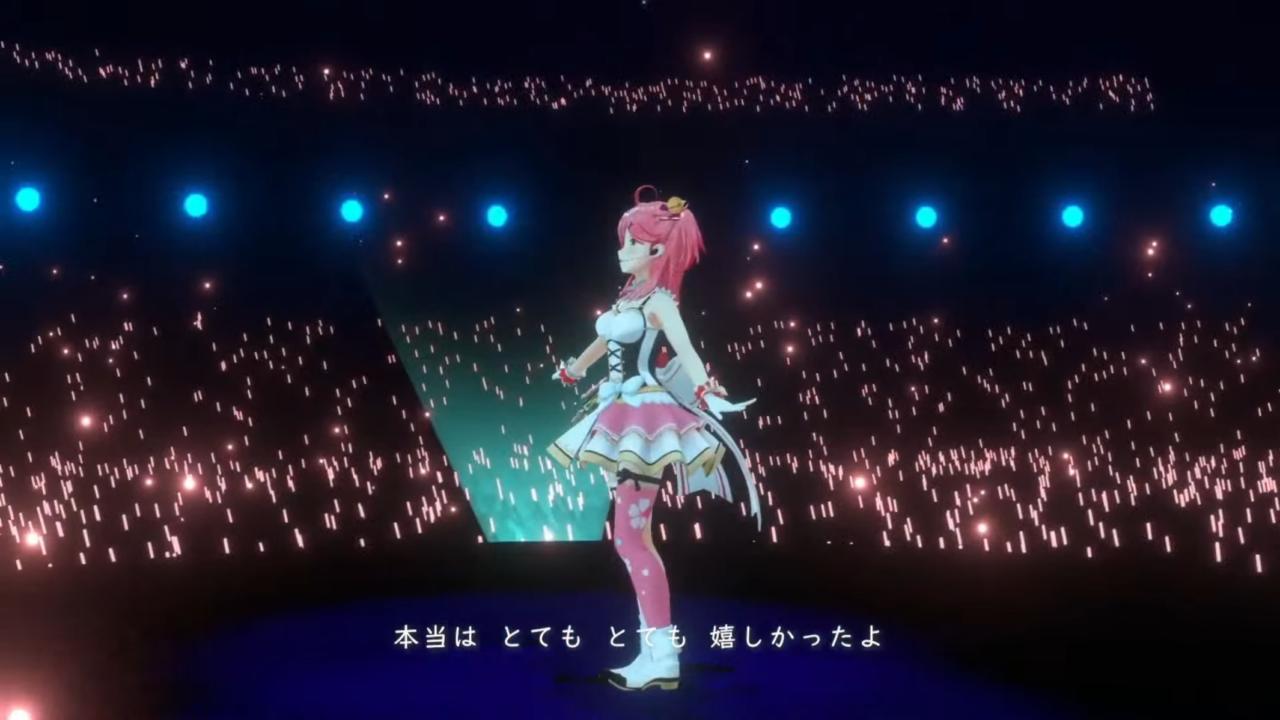 6b70ecb0ae97daffd391199733c48895 【 3DLIVE 】3rd Anniversary LIVE Shine more!!! 【#さくらみこ3周年LIVE】