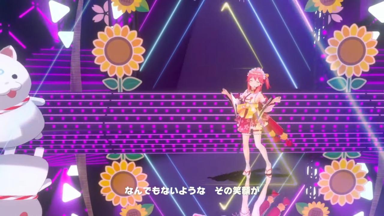 6cf12f3061cdbf6597f58a18b089efea 【 3DLIVE 】3rd Anniversary LIVE Shine more!!! 【#さくらみこ3周年LIVE】