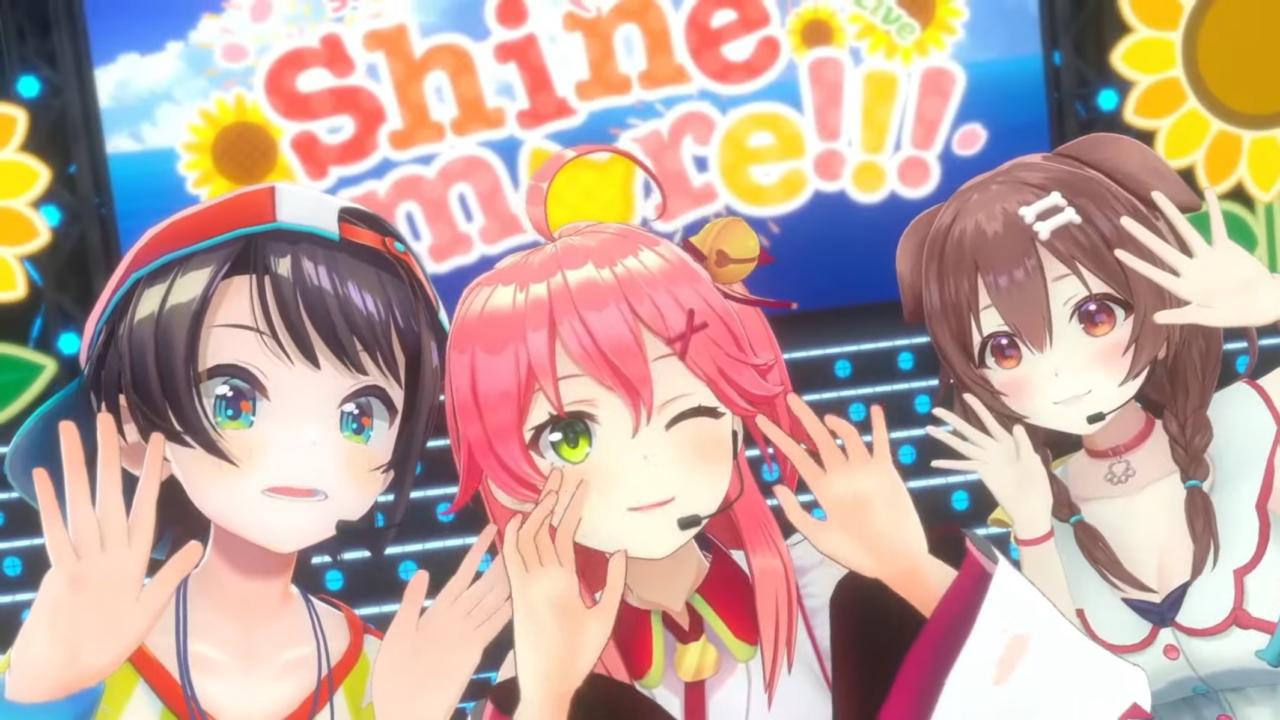 869bf522fa1a6945ae48a6d8b098fe3c 【 3DLIVE 】3rd Anniversary LIVE Shine more!!! 【#さくらみこ3周年LIVE】