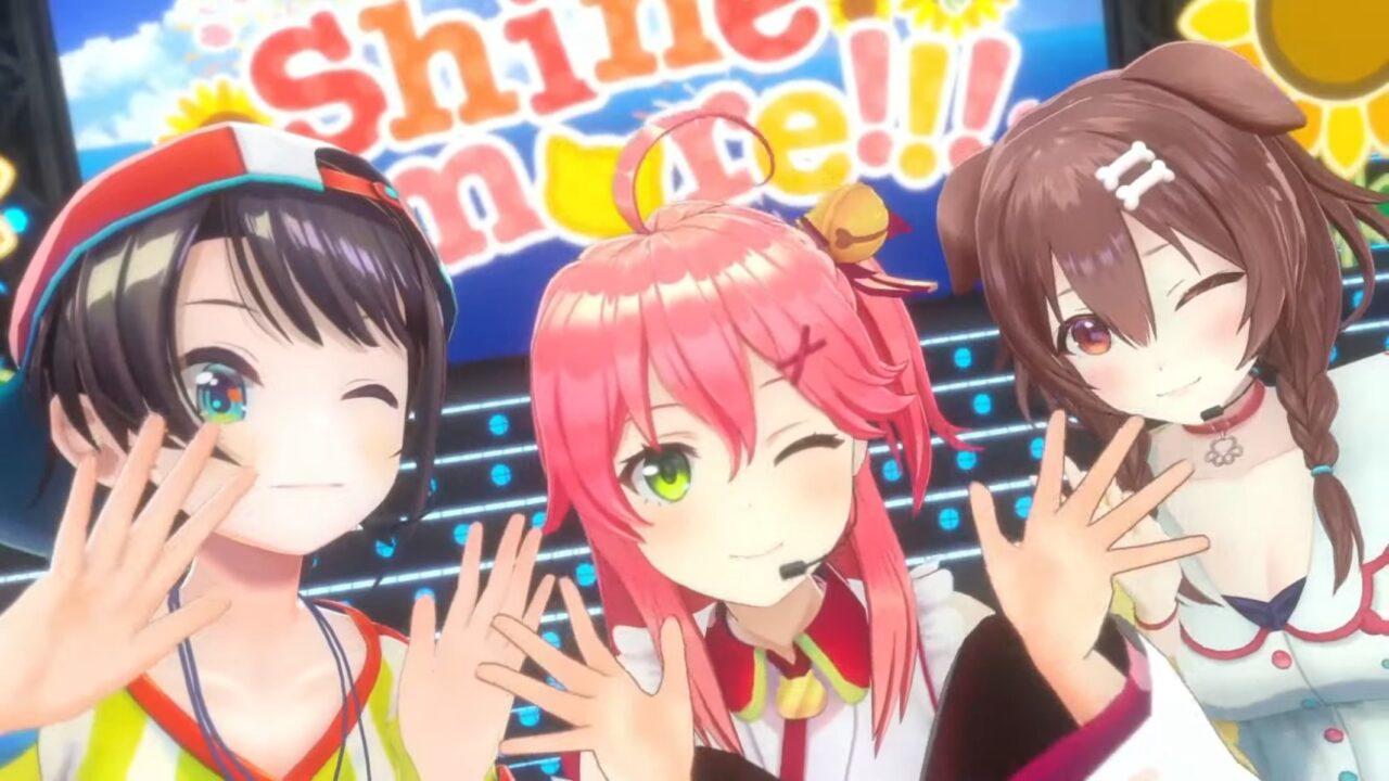E7tHAyeVIAcnZSb 【 3DLIVE 】3rd Anniversary LIVE Shine more!!! 【#さくらみこ3周年LIVE】