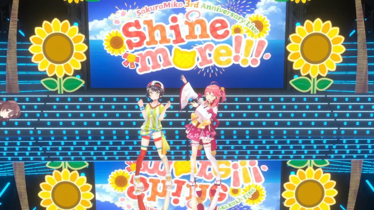 b05cb23d34d9fbb7b2f83f160ad31691 【 3DLIVE 】3rd Anniversary LIVE Shine more!!! 【#さくらみこ3周年LIVE】