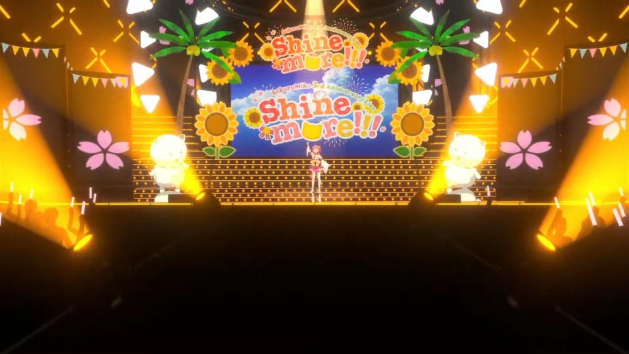 b90d1c70789861e6ea6f7c56ee5e8339 【 3DLIVE 】3rd Anniversary LIVE Shine more!!! 【#さくらみこ3周年LIVE】