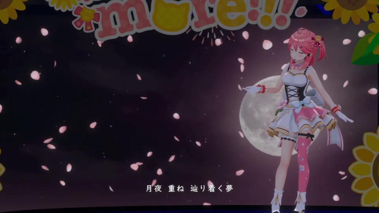 c3638385dbacee7cc771350627738755 【 3DLIVE 】3rd Anniversary LIVE Shine more!!! 【#さくらみこ3周年LIVE】