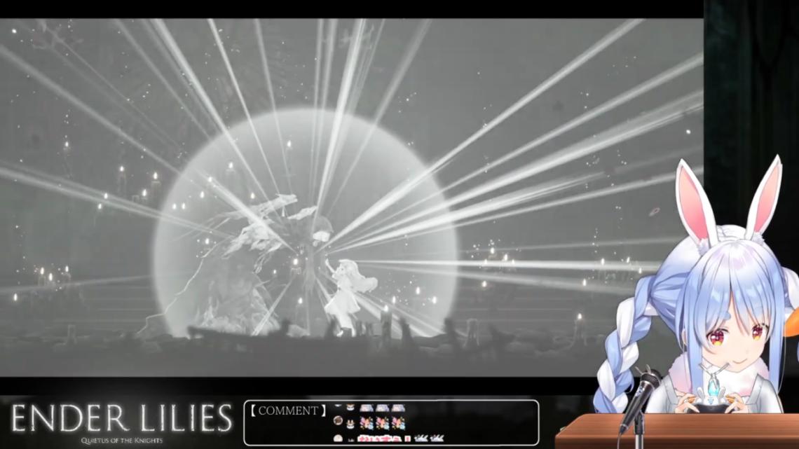 【ENDER LILIES】絶望の世界で呪いの運命にあらがってみせるぺこ!【ホロライブ/兎田ぺこら】