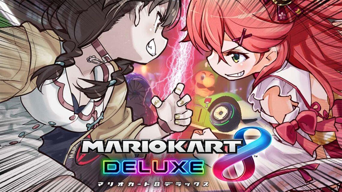 【 マリオカート8DX 】みっころねマリカPOINT対決!!!!!【ホロライブ/さくらみこ】