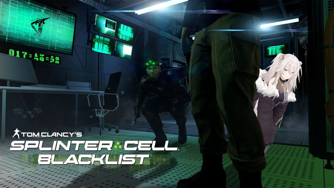 陰のオーラまとっていくぞ!スプリンターセル ブラックリスト(Splinter Cell Blacklist)【獅白ぼたん/ホロライブ】