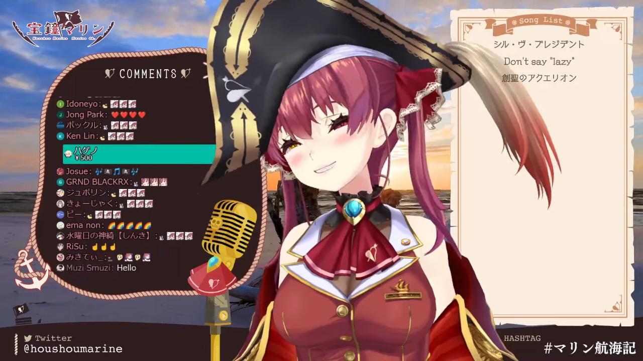 1345dfb4c13f6c324a3da6b04e66a38e 【歌ってみた】やっぱ結局アニソンを歌ってしまうんだよな / singing anime song【ホロライブ/宝鐘マリン】