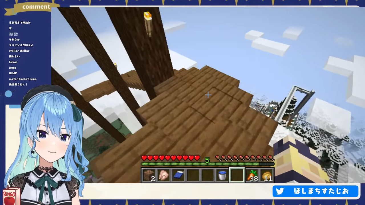 2df83713920979724978181b75351730 5000億年ぶりの【Minecraft】EN鯖を観光させていただきます🌎 / ENserver Sightseeing!✨【ホロライブ / 星街すいせい】