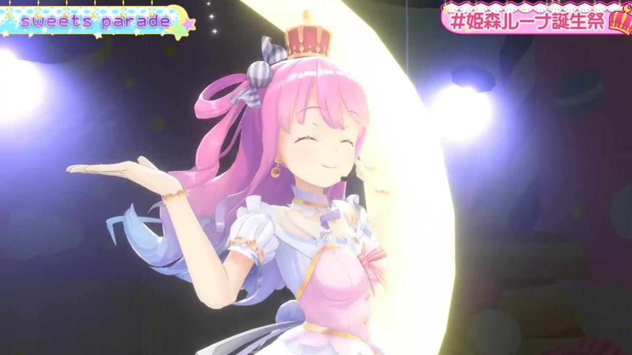 347500882f180fb4243167c1757694a9 【 #姫森ルーナ誕生祭 】たくさんお祝いして欲しいのら!エレクトーンが最高すぎる!!💗Luna's Birthday Live【ホロライブ】 Awesome!3D Electone Concert!!