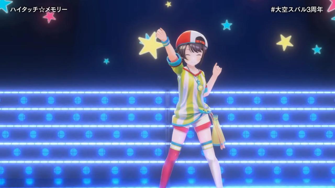 bd05bc47452b8fffc974dbc12746c364 【#大空スバル3周年】おまたせ!今日はたのしんでってな~!!!!:SUBARU 3rd anniversary Live【ホロライブ】 キレッキレなダンスで最高に最強にアイドルなスバルちゃん。