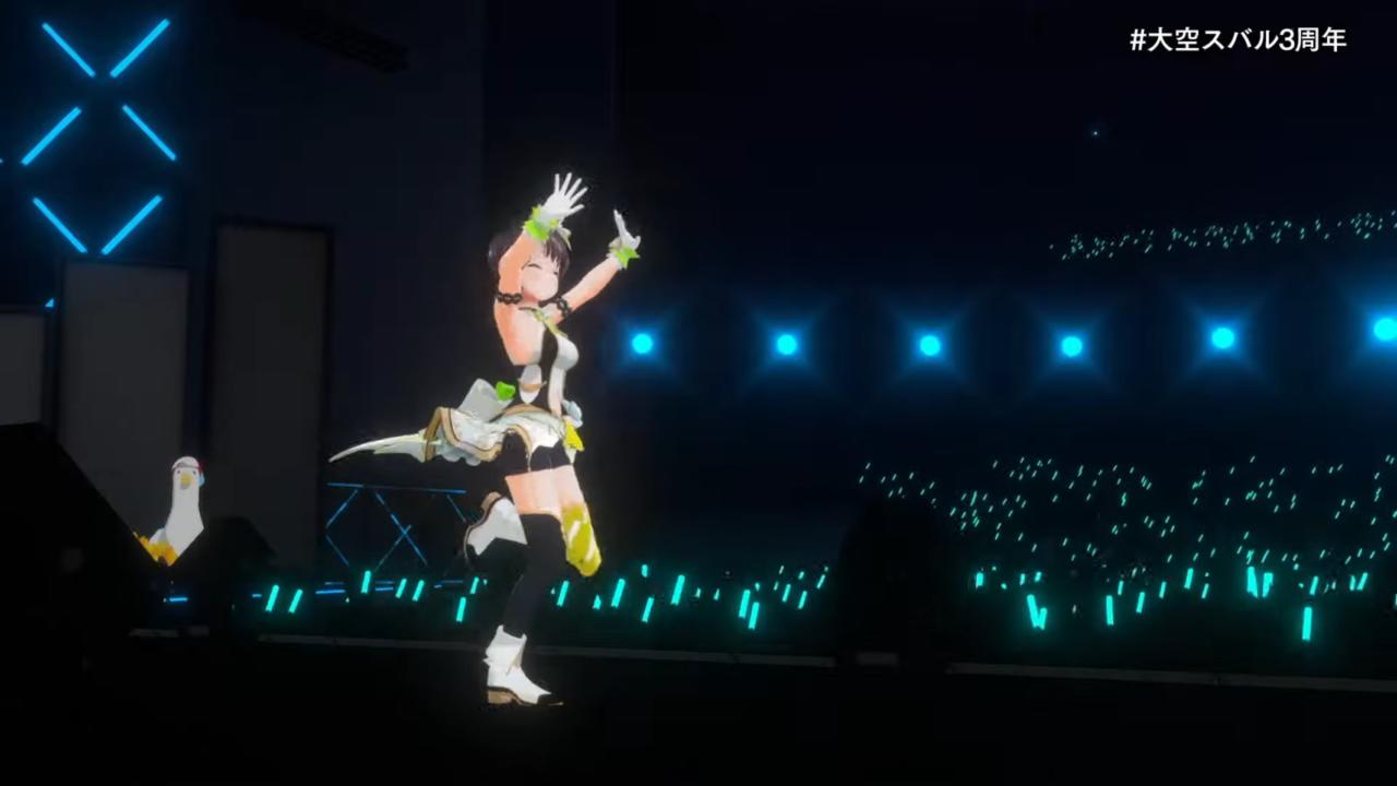 c2a21a62813b1b4857adf70781d75e71 【#大空スバル3周年】おまたせ!今日はたのしんでってな~!!!!:SUBARU 3rd anniversary Live【ホロライブ】 キレッキレなダンスで最高に最強にアイドルなスバルちゃん。