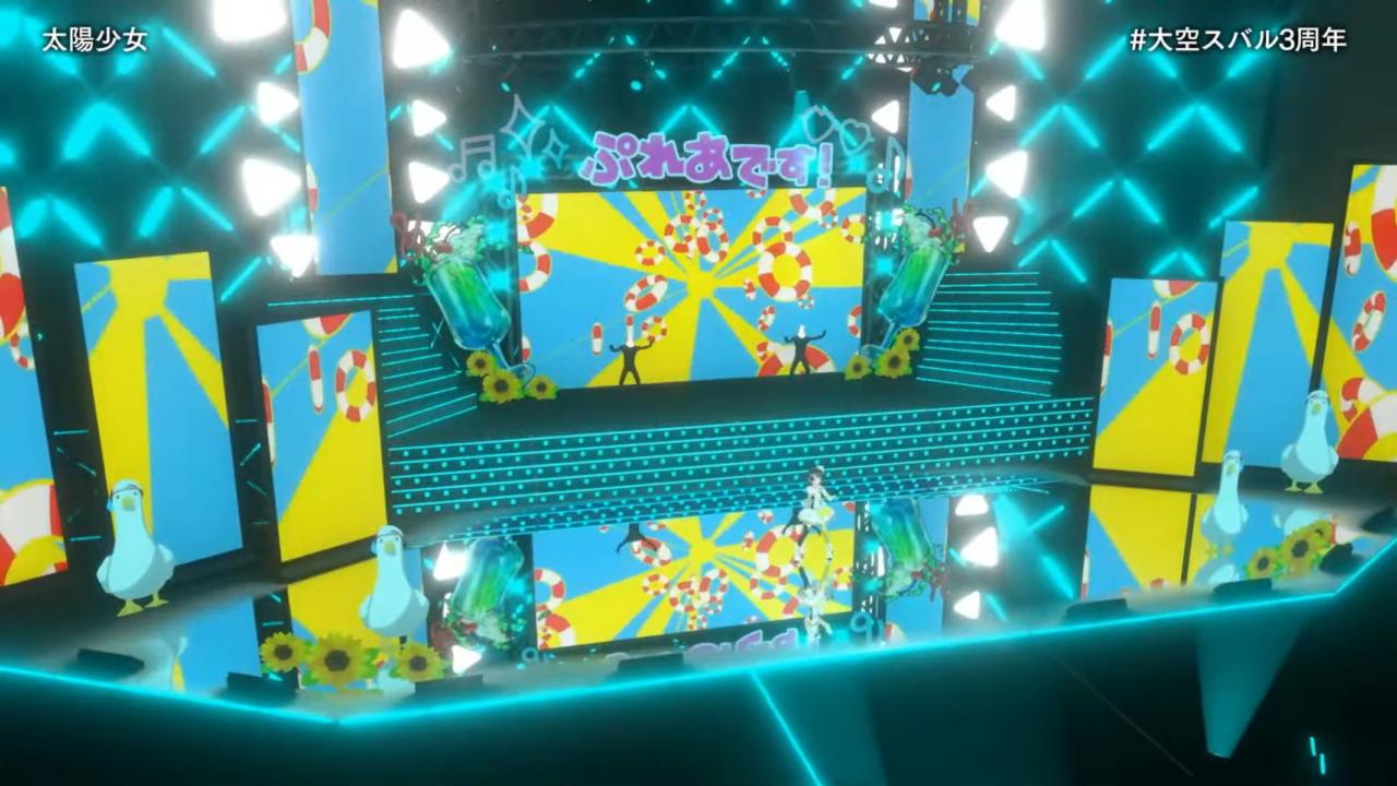 eb69aed1d30f403d74d1c54cb3449f23 【#大空スバル3周年】おまたせ!今日はたのしんでってな~!!!!:SUBARU 3rd anniversary Live【ホロライブ】 キレッキレなダンスで最高に最強にアイドルなスバルちゃん。