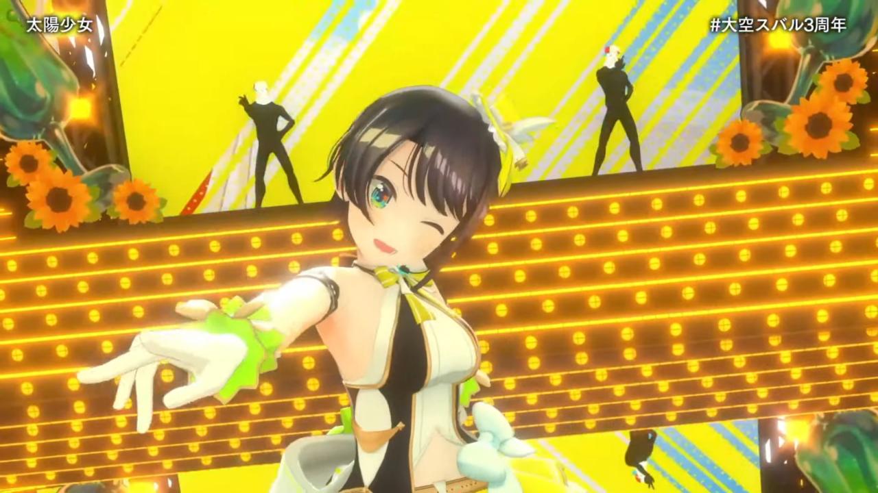 fa4f19458ee075c339f0a9c49ab2a3ec 【#大空スバル3周年】おまたせ!今日はたのしんでってな~!!!!:SUBARU 3rd anniversary Live【ホロライブ】 キレッキレなダンスで最高に最強にアイドルなスバルちゃん。